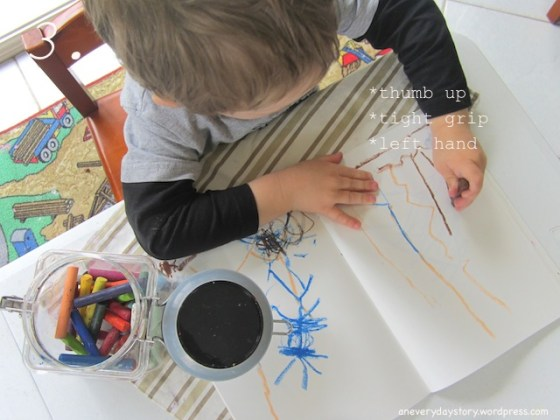prewriting and writing readiness signs to look for montessori reggio occupational therapy Is He Ready?   Prewriting and Writing Readiness