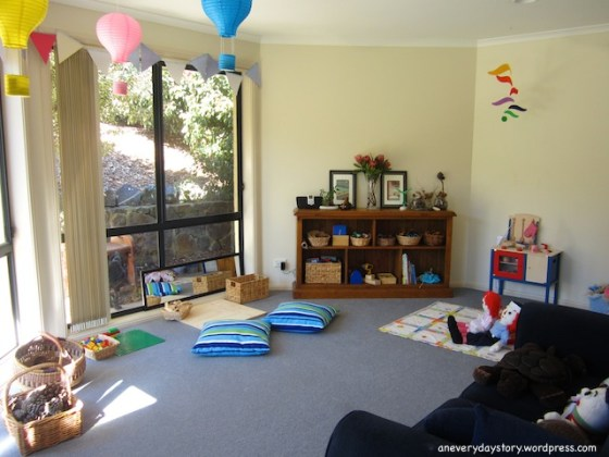 reggio and montessori inspired playroom A Reggio inspired Block Corner
