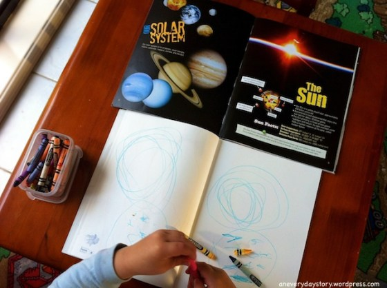 reggio emilia project based learning solar system space observational drawing an everyday story Whats the Difference Between a Project and a Theme?