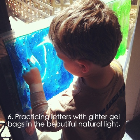 prewriting activities for preschoolers using sensory gel bags an everyday story This Week… 4/52