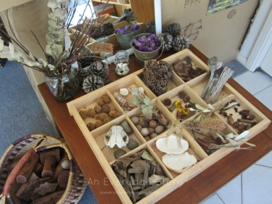 nature table in a reggio playroom an everyday story Mirrors