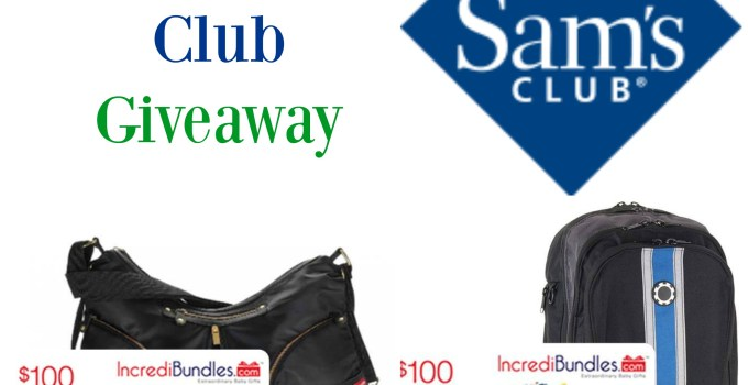 Sam's Club Mom's & Dad's Club Giveaway to Celebrate Parent's Day