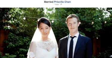 zuckerberg gets married
