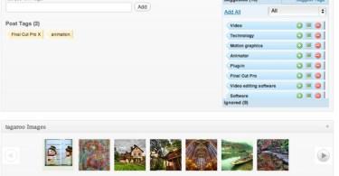 Tagaroo's simple interface to Calais metadata