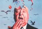 Hitchcock Birds Poster