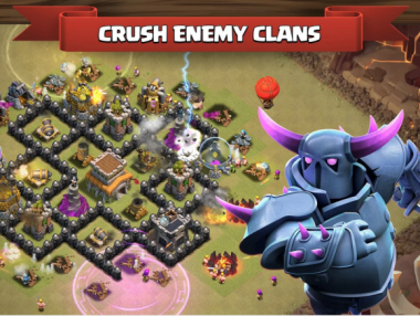clash of clans enemies