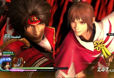Samurai Warriors 4 gameplay
