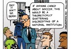 A corruption scandal surrounding FIFA, the governing body of professional international soccer, would devastate our view of sports were the United States the least concerned about soccer.