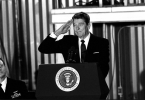 ronald reagan should never salute -- a breach of protocol!