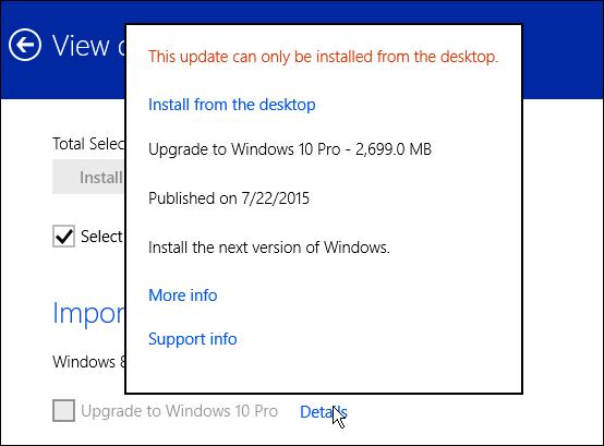 how to upgrade windows 8.1 to windows 10 Modern Updates