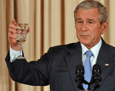 why are americans so dumb ted rall george w bush