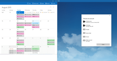 Mail and Calendar Apps