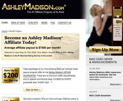 ashley madison dating site 2010 Ashley madison's hack gave insight to a world where millions of don't let ashley madison and tinder quartz asked the dating sites below for their.
