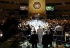 Pope Ground Zero interfaith service nyt