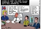 hillary clinton ted rall cartoon