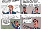Ted Rall Donald Trump cartoon