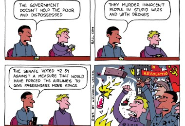 nothing to lose, FAA, travel, Ted Rall, cartoons