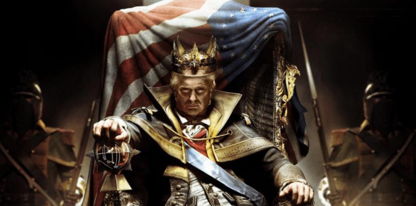 donald trump god emperor white supremacists on trump rendering kkk