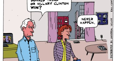 Ted Rall Donald Trump Hillary Clinton
