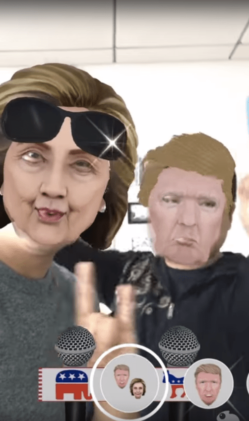 Politics Got You Down? Try Camo Live Masks for the Presidential Debate