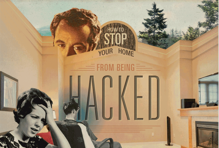How To Stop Your Home From Getting Hacked infographic iOt security