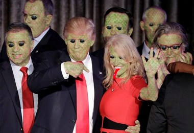donald trump team reptilians