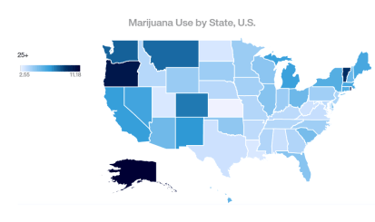 cannabis map sen jeff sessions