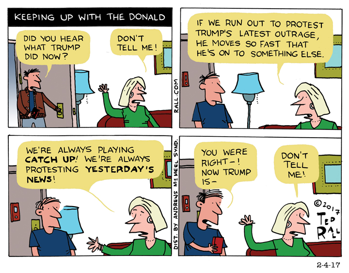 Keeping Up With the Donald