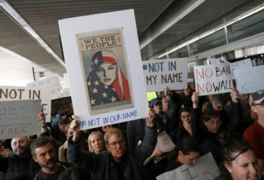 immigration ban protsts 9th circuit