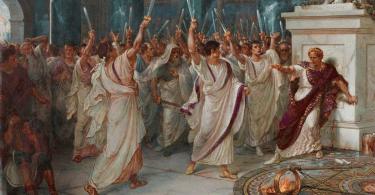 Trump is Caesar Senators Knives GOP plans impeachment