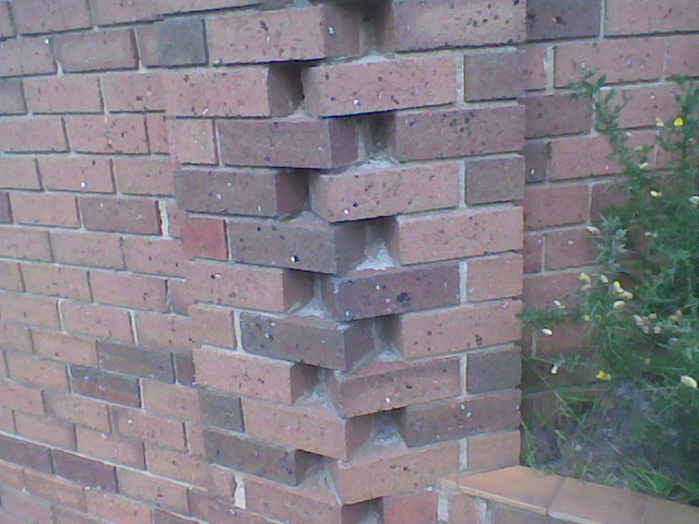 bad brickwork corner