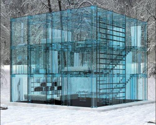 ice cube house