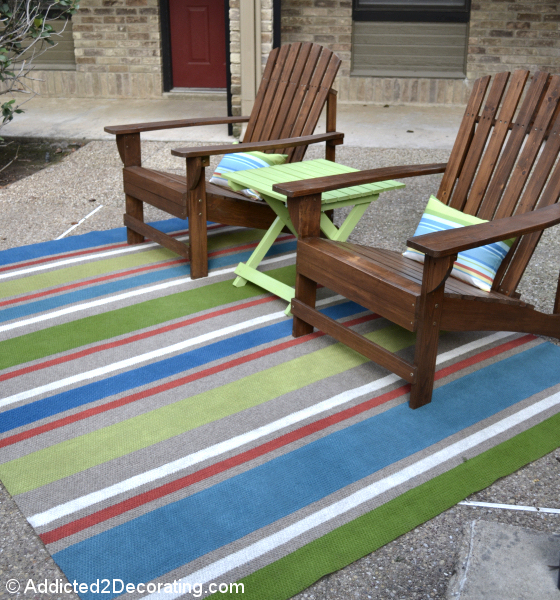 Addicted 2 Decorating | Outdoor Rug created by Kristie