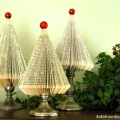 Book pages turn Christmas Trees & an easy tutorial the making
