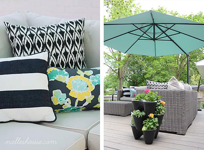 Monday Funday Feature :: Patio Decor and Seating :: Nalle's House