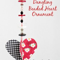3-D Hanging Paper Hearts Tutorial for Valentine's Day