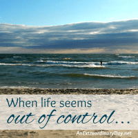 When life seems out of control... :: JoyDay!
