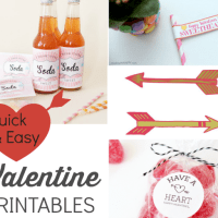 Free! 40 Last Minute Valentine's Day Printables