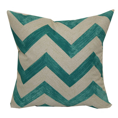Mainstays 16″ Teal Chevron Outdoor Pillow
