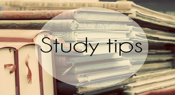 What are some of your study tips/skills?