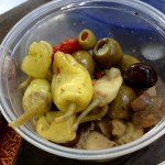 Cheese Stuffed Olives and Pickles, oh my! (by Jeff)