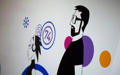 Nuevo trabajo diseño e ilustración espacio Bingo Alaquàs