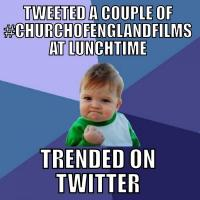 The Church of England goes to Hollywood - the best of #churchofenglandfilms