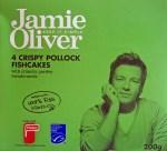 Jamie Oliver Crispy Pollock Fishcakes Box