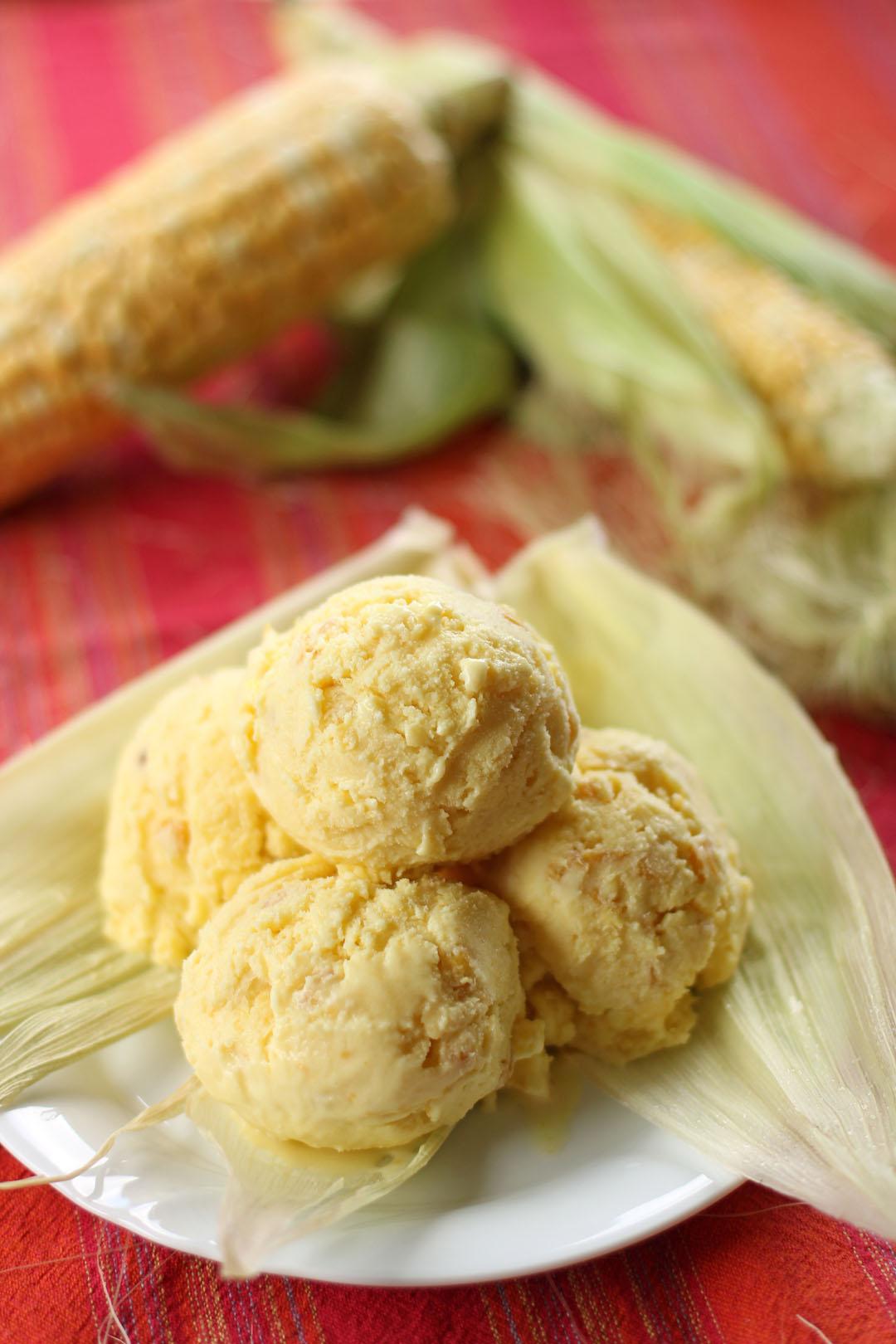 Sweet Corn Ice Cream - Ang Sarap