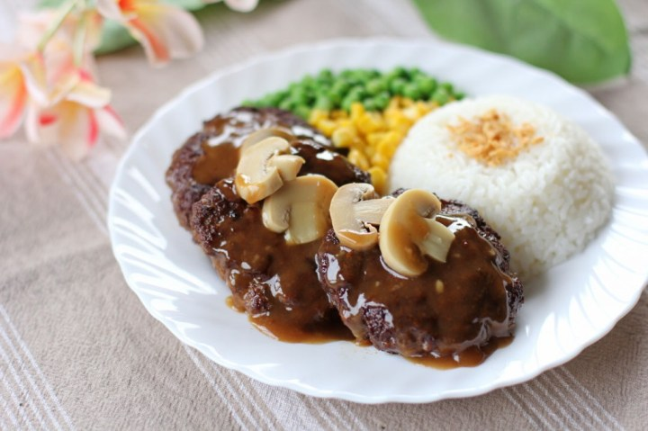 Burger Steak Wide