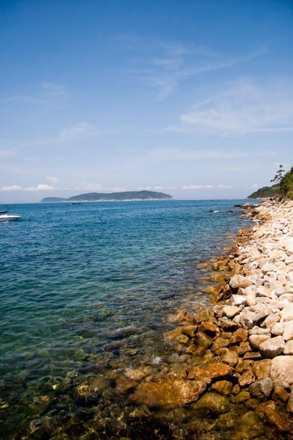 Bờ biển Cù Lao Chàm
