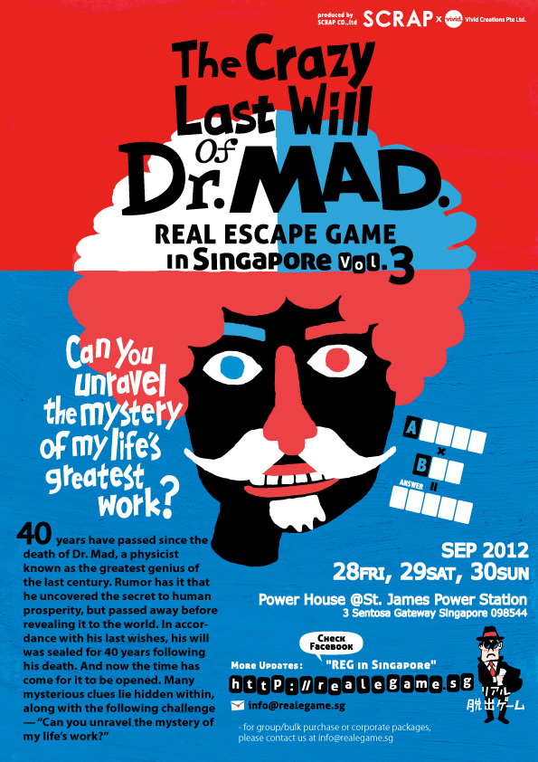 SG: REG 3: The Crazy last Will of Dr. MAD