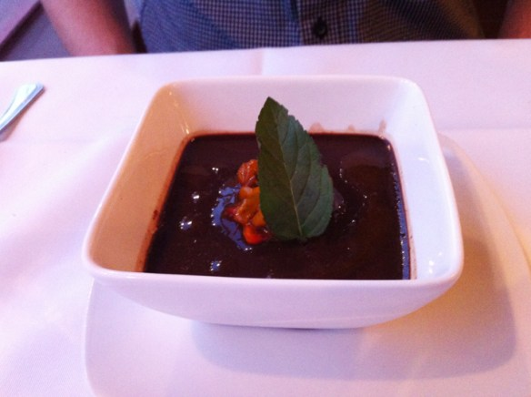 Red Fish Chocolate Pudding