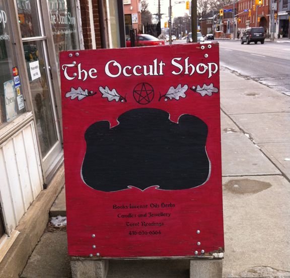 The Occult Shop